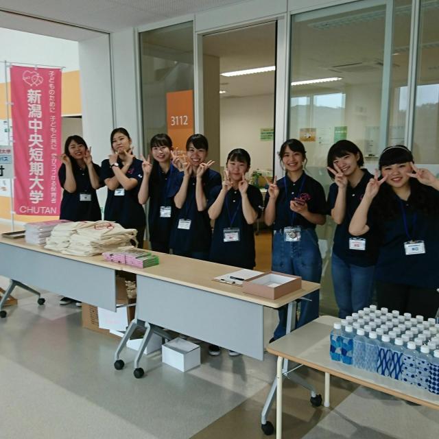 新潟中央短期大学 学生スタッフとの交流ワークショップは楽しさいっぱい!4