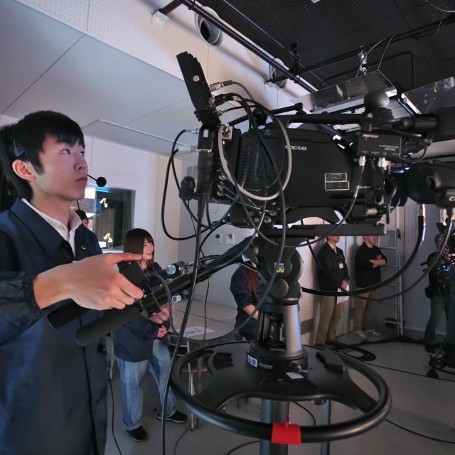経専音楽放送芸術専門学校 初めての映像・スタジオ業界体験!テレビ制作スタッフ体験3