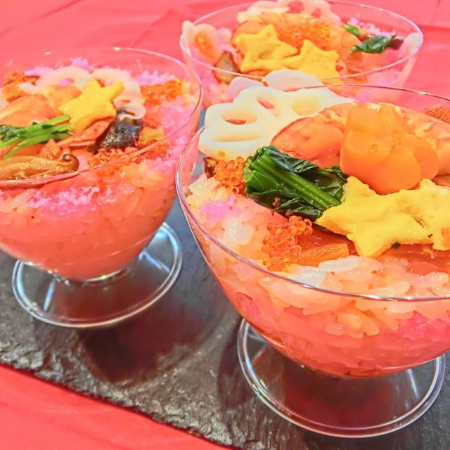 東京栄養食糧専門学校 ひな祭りはカップdeちらし寿司【ランチ付】1
