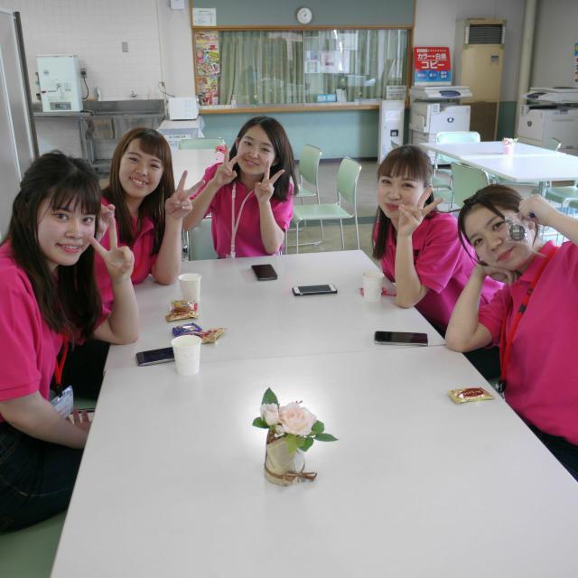 岡山短期大学 学生主体のオープンキャンパス★ 先輩とたくさん話そう♪ 1
