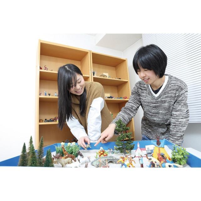 保育・介護・ビジネス名古屋専門学校 心理・保育・教育を体験できるオープンキャンパス!1