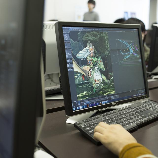 名古屋デザイナー学院 ゲーム・CG スタート講座!1