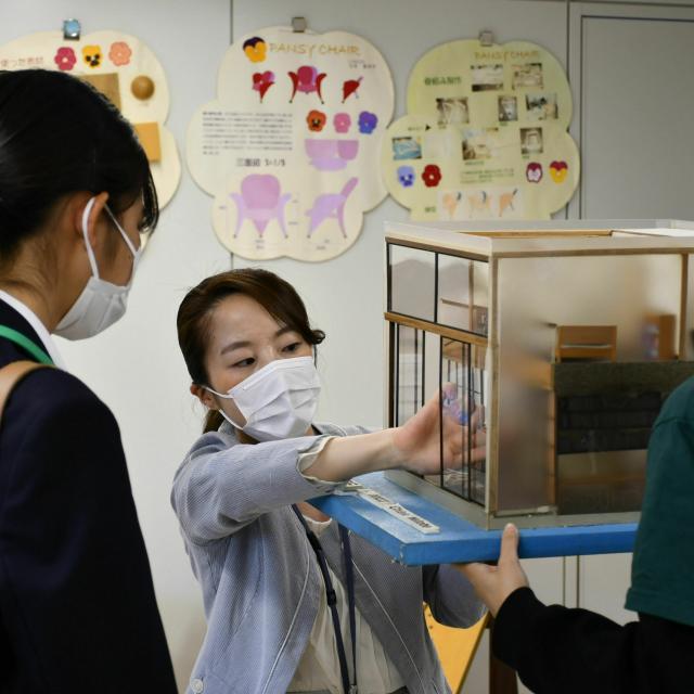 中央工学校OSAKA 【インテリアデザイン科】オープンキャンパス2