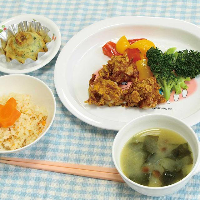 織田栄養専門学校 保育所のお昼ご飯&おやつを作ろう1