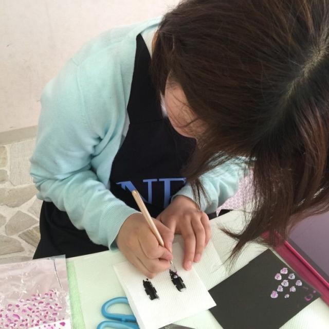 名古屋ファッション・ビューティー専門学校 自分だけのオリジナルネイルチップを作ろう!1
