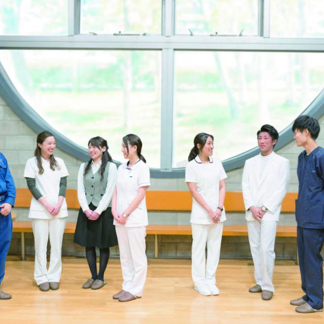 北海道ハイテクノロジー専門学校 医療系学科卒業生大集合!リアルな医療の現場がわかるO.C !2