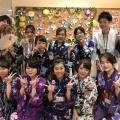 理容美容専門学校西日本ヘアメイクカレッジ 天神祭りに浴衣で出かけよう!!