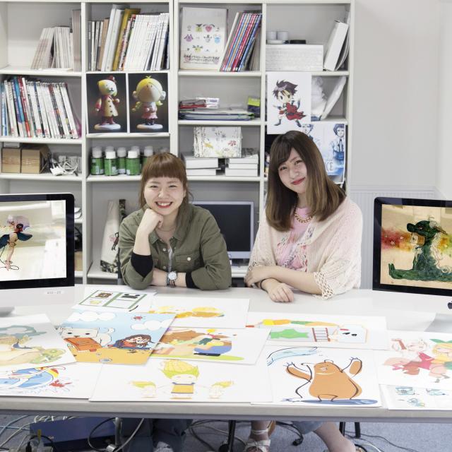 専門学校 札幌デザイナー学院 ≪ビジュアルデザイン≫イラスト、キャラクター好き集まれ♪1