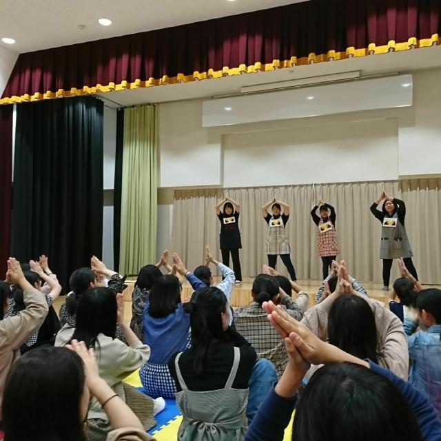 新潟中央短期大学 学生スタッフとの交流ワークショップは楽しさいっぱい!2