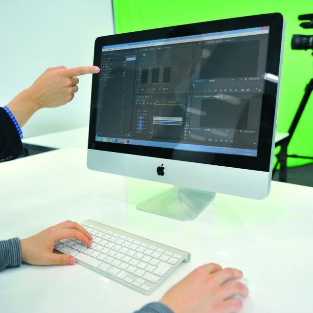 専門学校 東京テクニカルカレッジ 【Web動画クリエイター科】デジタルサイネージをつくろう1