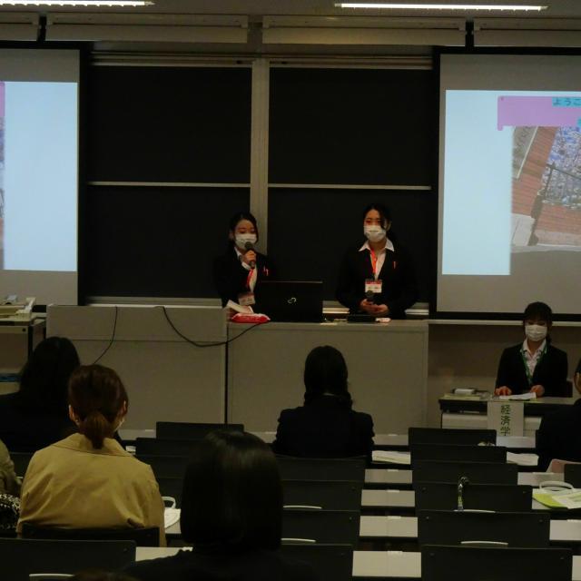 北海道武蔵女子短期大学 キャンパス見学会3