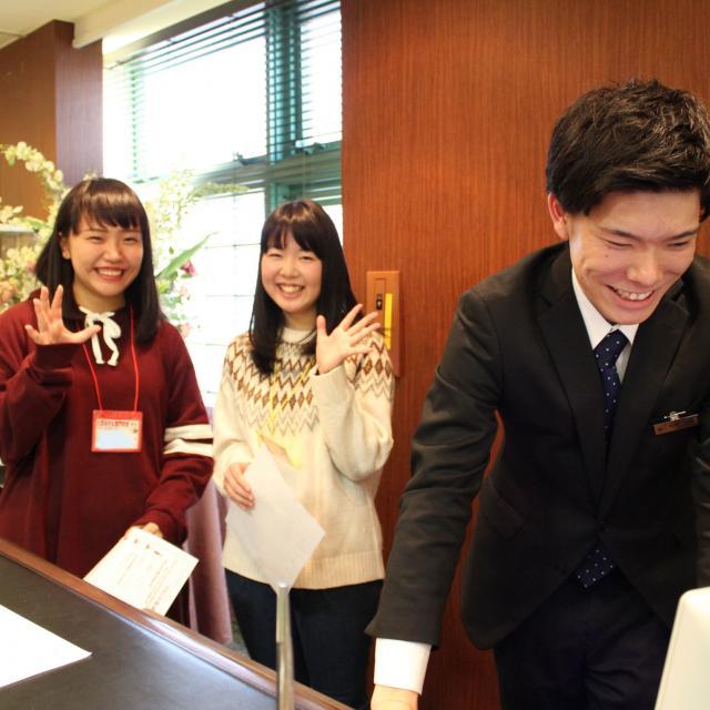 大阪ホテル専門学校 【海外ホテル】職業なりきり体験オープンキャンパス2