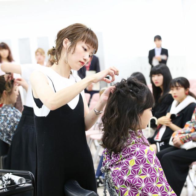 名古屋美容専門学校 NAGOYA BIYO・OPEN CAMPUS ′18!2
