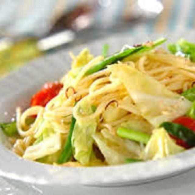 悠久山栄養調理専門学校 春を楽しもう! ~春野菜のパスタ~1