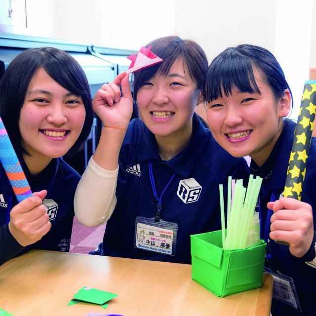 仙台リゾート&スポーツ専門学校 【無料バス付】こどもスポーツ体験1