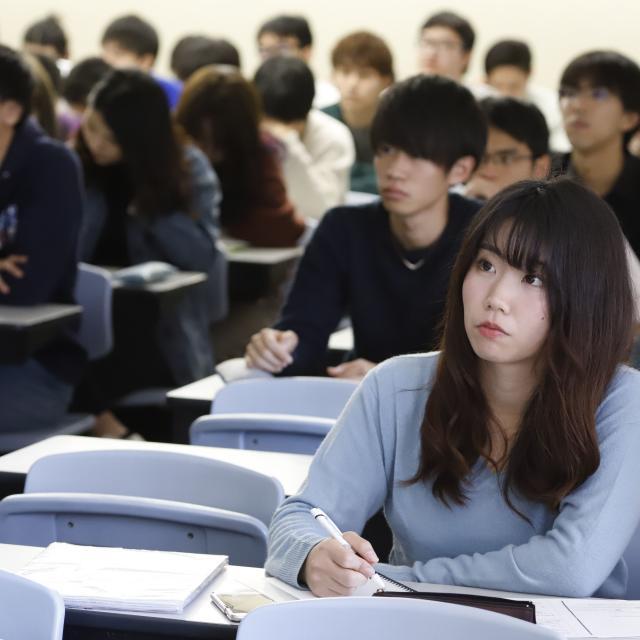麗澤大学 オープンキャンパス(大学入学共通テスト対策講座を実施!)1