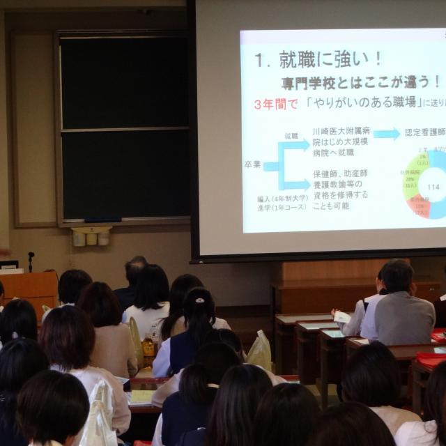 川崎医療短期大学オープンキャンパス(受付:本学にて)