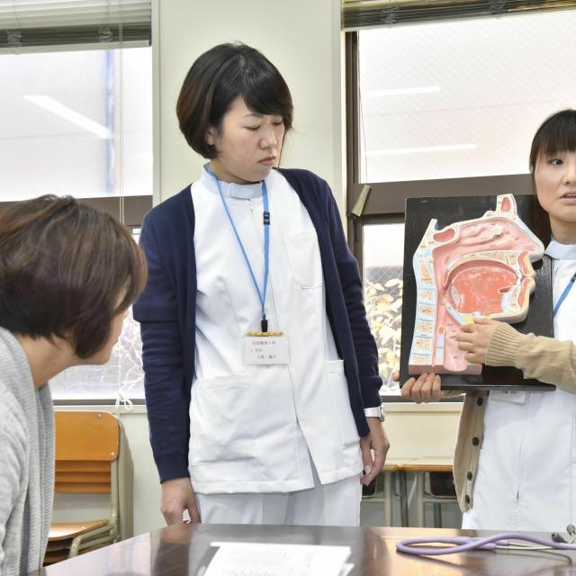 神戸総合医療専門学校 オープンキャンパス 言語聴覚士科 第1部3
