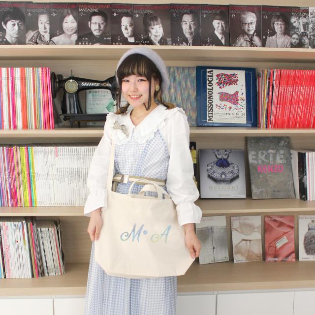愛知文化服装専門学校 サマーイベント★ビックトートを作ろう★1
