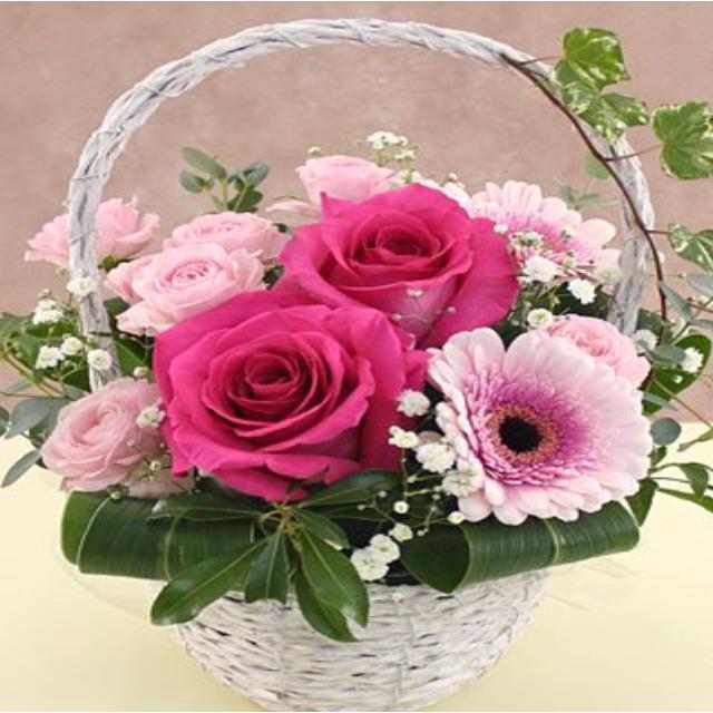 大阪ビジネスカレッジ専門学校 バラと仲良くなれる!Roseデザイン講座1