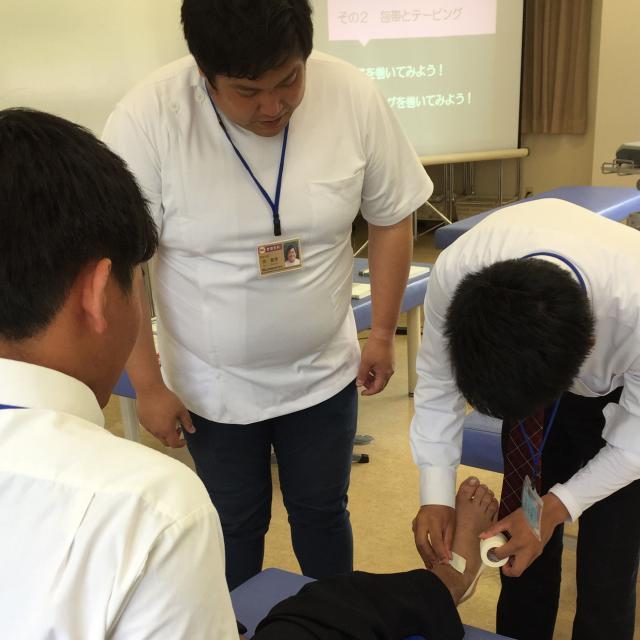 IGL医療福祉専門学校 【柔整学科】オープンキャンパス体験授業(ネット予約受付中)2