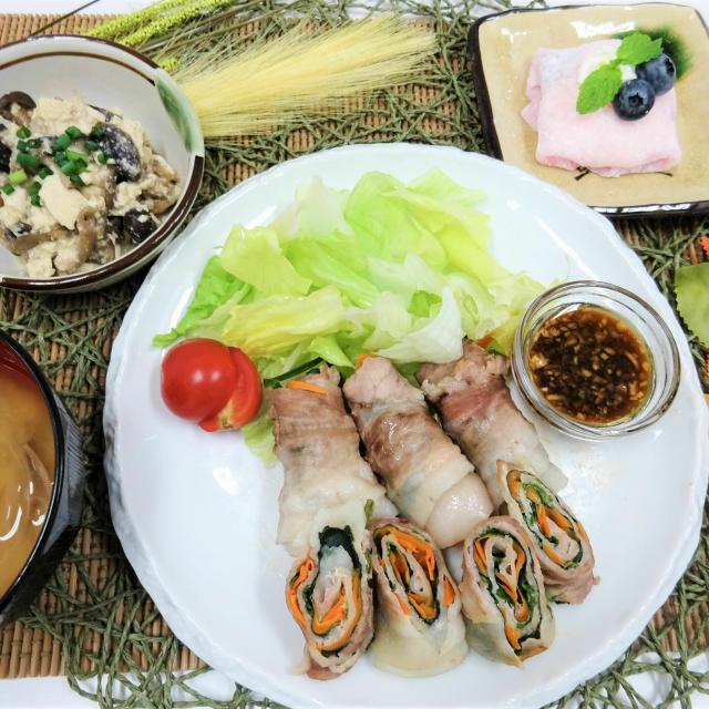 名古屋栄養専門学校 【調理実習体験】目の健康を考えよう!秋の和定食1