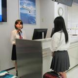 【グランドスタッフコース】空港スタッフを目指せる授業を体験の詳細