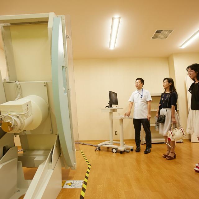 新潟医療福祉大学 【診療放射線技師】の仕事体験!画像情報より病気を見つけよう!3