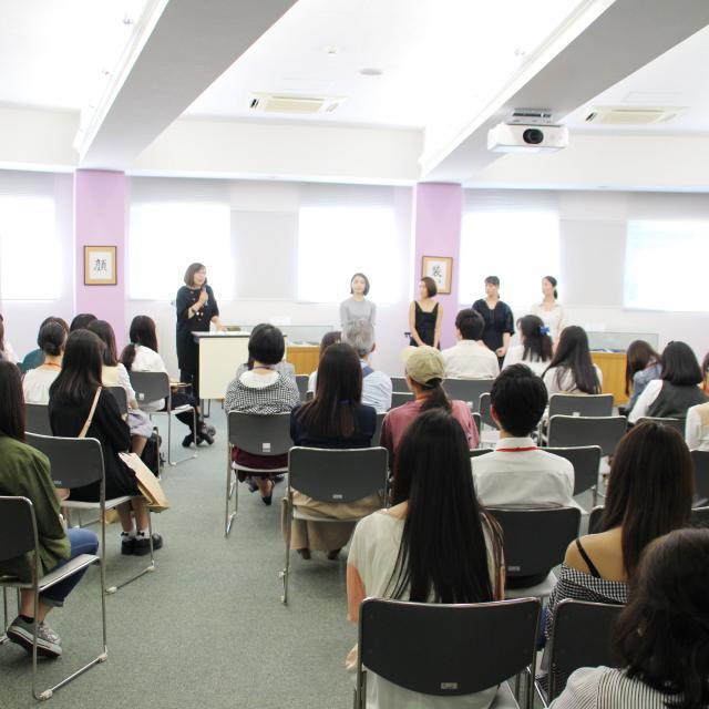 山野美容芸術短期大学 卒業生トークライブ×通常授業見学×入試対策講座3