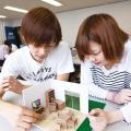 専門学校 九州デザイナー学院 12月の体験入学(インテリア・雑貨)