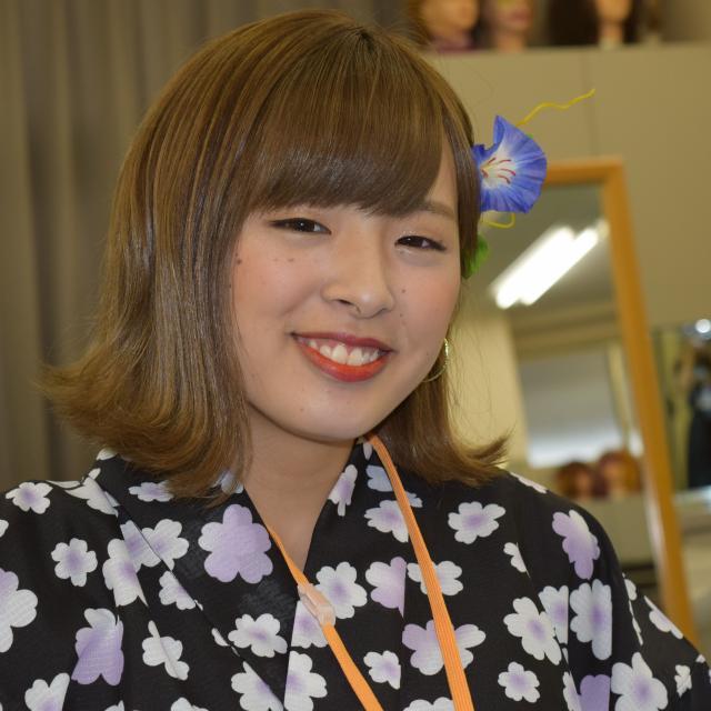専門学校東萌ビューティーカレッジ 東萌BCオープンキャンパス<着付け&メンズヘアアレンジ講座>1