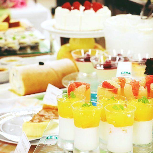 神戸製菓専門学校 ☆スイーツ好き集まれ!夏のデザートビュッフェ♪焼菓子作り体験1