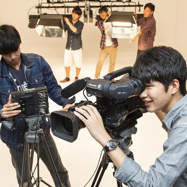 鹿児島キャリアデザイン専門学校 【TV映像音響科】映像撮影体験コース1
