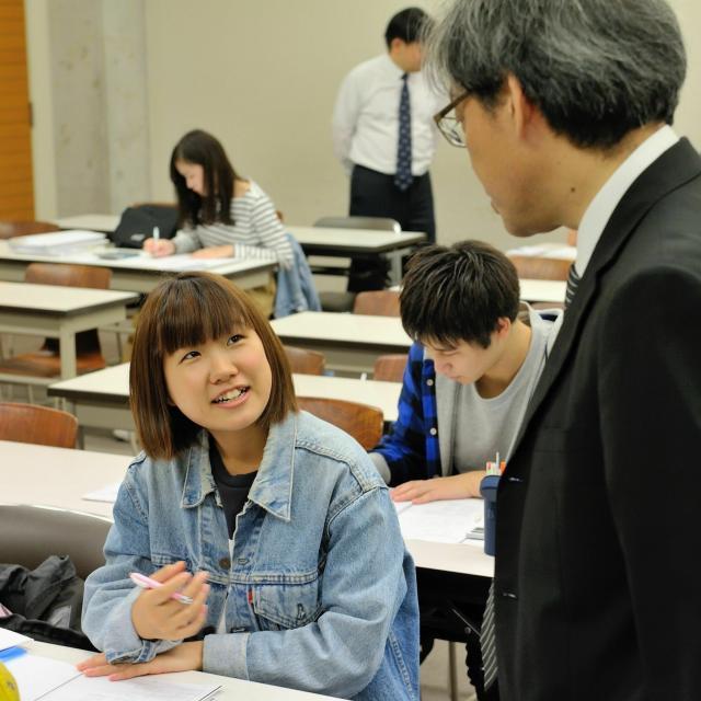 東京経営短期大学 TMC2020年 体験授業1