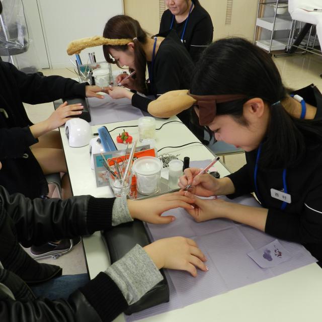 長野理容美容専門学校 クリスマスイベント20181