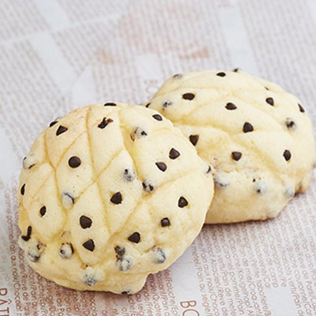 織田製菓専門学校 チョコチップメロンパン1