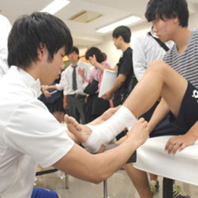 呉竹鍼灸柔整専門学校 雰囲気を体感しよう!! 学校説明会3