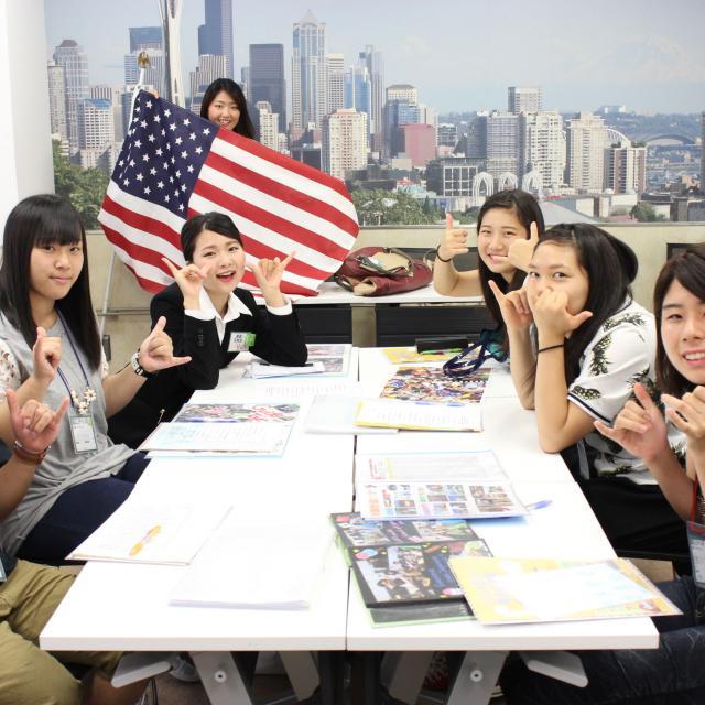 ホスピタリティ ツーリズム専門学校大阪 【英語コミュニケーション】英語体験オープンキャンパス♪3