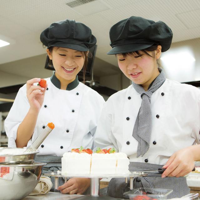 札幌スイーツ&カフェ専門学校 お仕事まるわかり体験 autumn!1