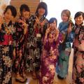 広島ビューティー&ブライダル専門学校 浴衣を着てとうかさんへ行こうイベント♪