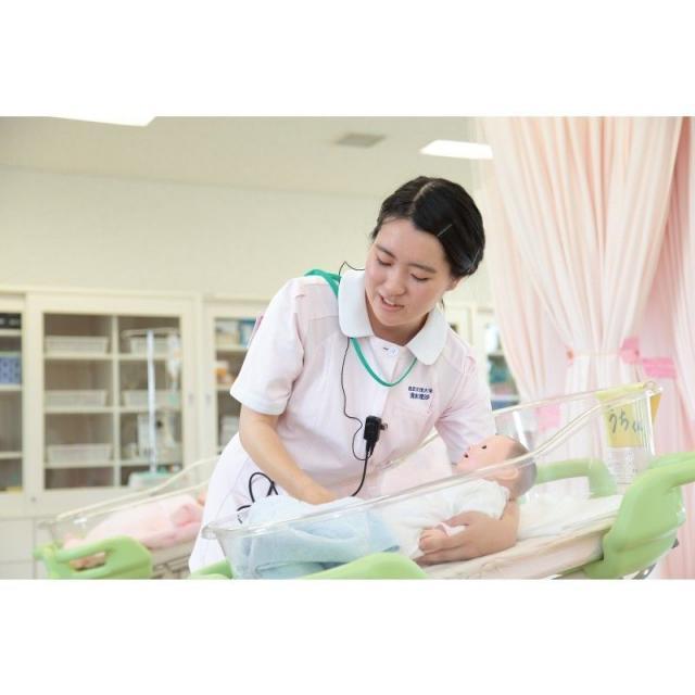 これが看護の道への第一歩-看護体験