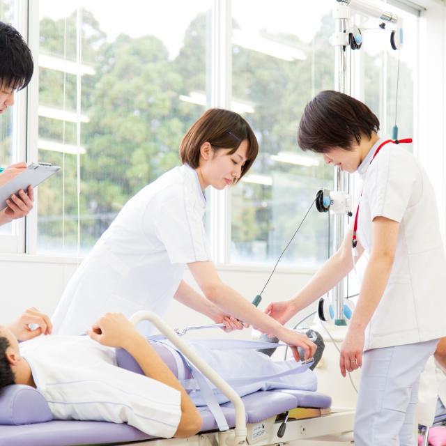 若狭医療福祉専門学校 【理学療法科】進学への第一歩~理学療法士を体験してみよう!1