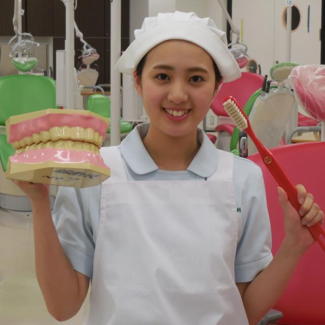 博多メディカル専門学校 キラキラ輝くステキ女子になる♪8月 歯科衛生士科2