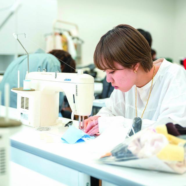 渋谷ファッション&アート専門学校 【1日コース】学校説明+体験実習★帽子をつくろう!2