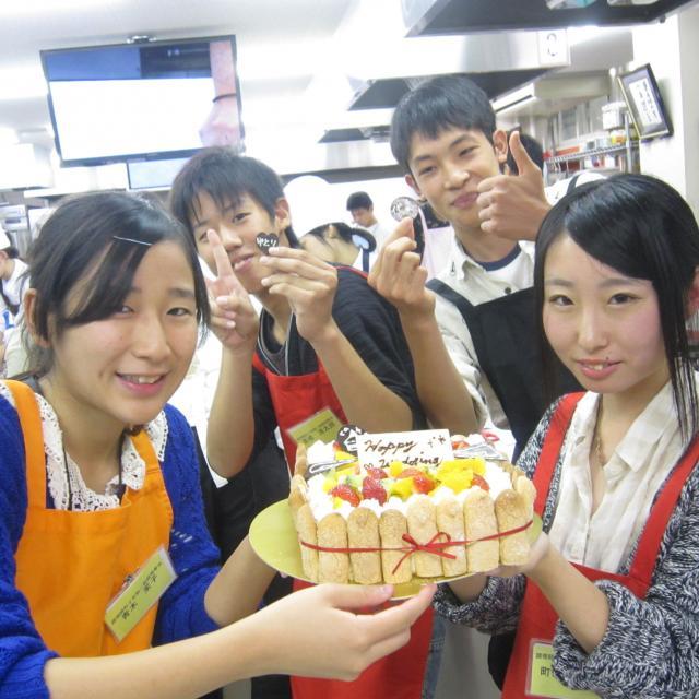 愛媛調理製菓専門学校 Wオープンキャンパス(1日に2学科の体験ができる!)1