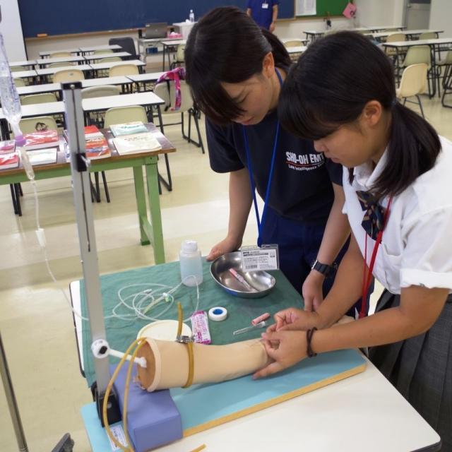 湘央生命科学技術専門学校 体験!救急救命士☆オープンキャンパス 20203