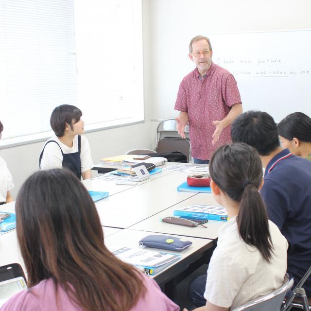 専門学校岡山ビジネスカレッジ 英語の授業を体験☆英語に親しもう♪1