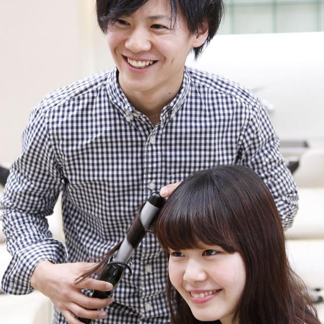 国際理容美容専門学校 ビューティ体験【ヘア】3