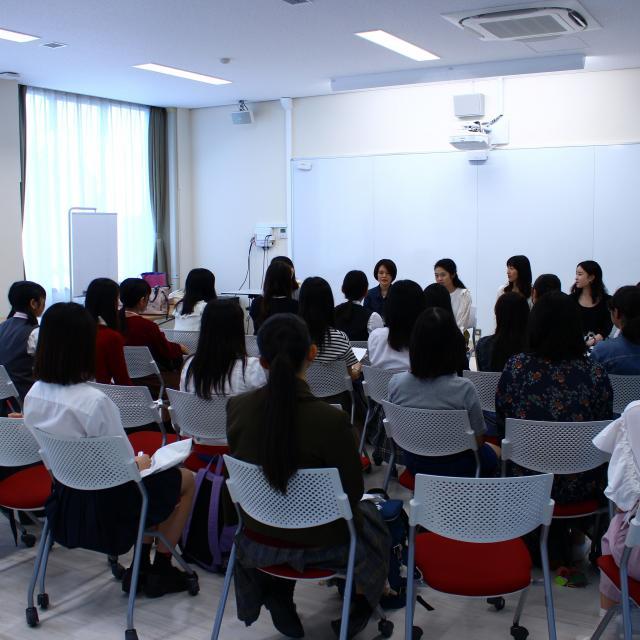 フェリス女学院大学 後期授業見学会(高校生対象)2