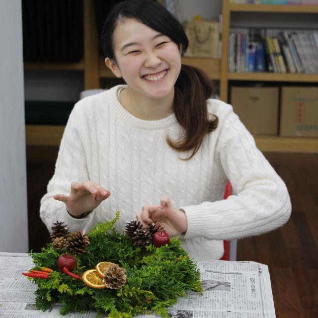 京都芸術デザイン専門学校 【インテリア・生活雑貨・家具】インテリア分野体験講座2